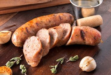 Chicken Sausage with White Wine