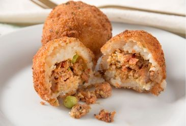 Arancini Ground Beef & Pea