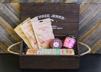 The Bacon Cheeseburger Jerky Crate