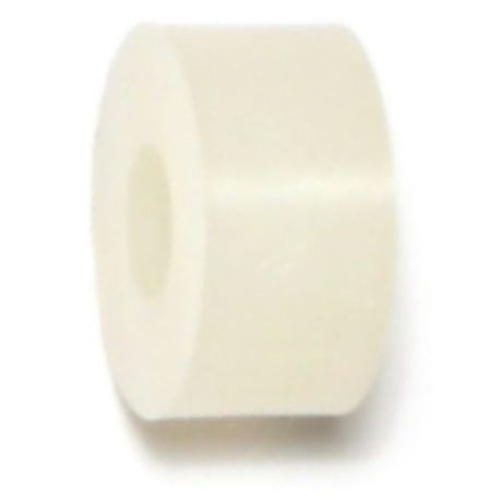 "#10 x 1/2"" x 1/4"" Nylon Plastic Spacers"