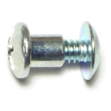 "#10-24 x 1/4"""" Plated Steel Screw  Posts"