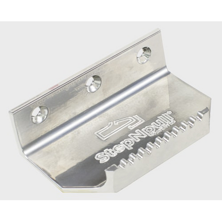 Foot Operated Door Opener Silver