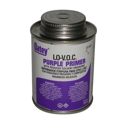 LO-VOC PURPLE PRIMER/CLEANER 16 OZ