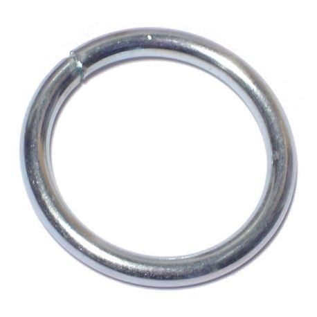 "#10 x 1"" Zinc Plated Steel Welded Rings"
