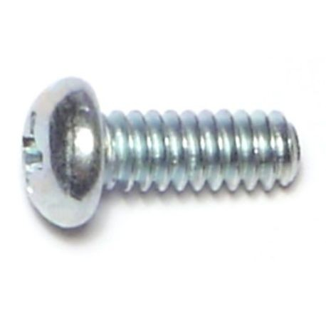 "#10-24 x 1/2"" Phillips Round Head Machine Screws"