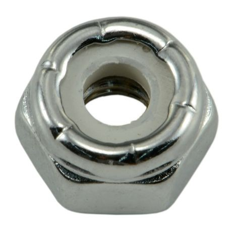 #10-24 Chrome Nylon Insert Lock Nuts