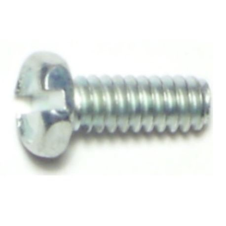"#10-24 x 1/2"" Slotted Indented Hex Machine Screws"