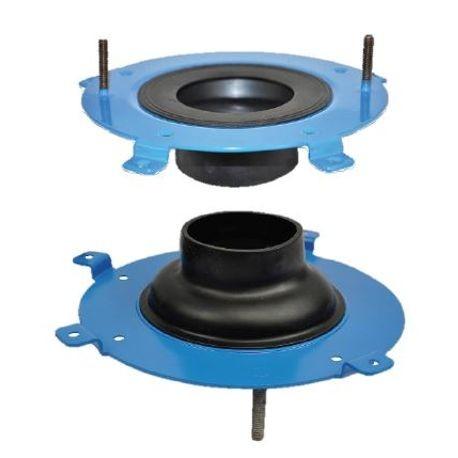 HYDROSEAT TOILET FLANGE REPAIR | Best Plumbing