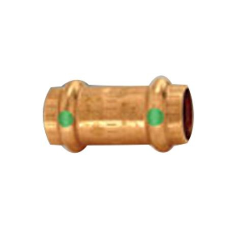 3/4 COPPER COUPLING W/STOP