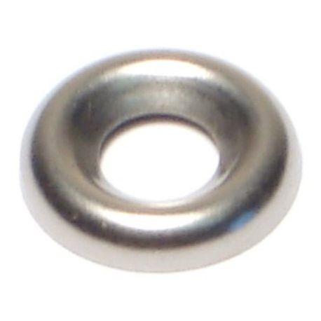 "#10 x 7/32"" x 19/32"" Steel Finishing Washers"