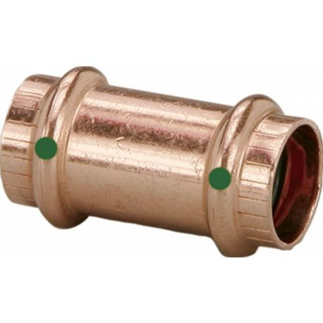 1 IN COPPER COUPLING W/O