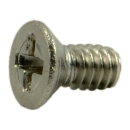 "#0-80x1/8"" Phillips Flat Head Mini Machine Screws"