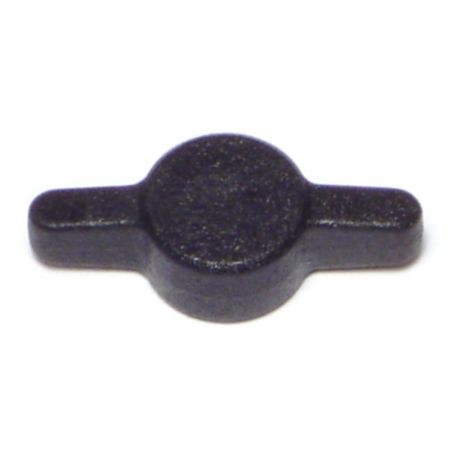 #10 Black Plastic Tee Thumb Screw Knobs