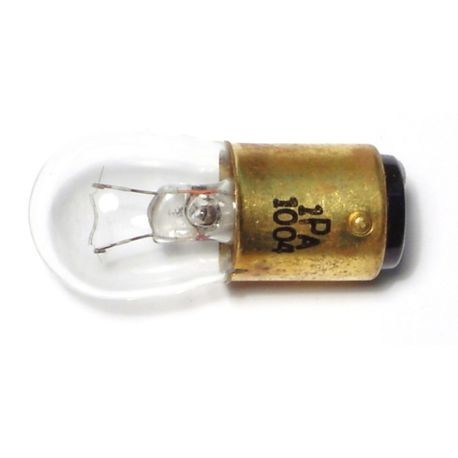 #1004 Clear Glass Miniature Light Bulbs