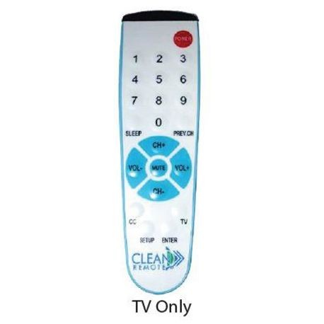 CLEAN REMOTE UNIVERSAL TV