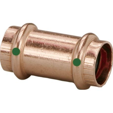 2 IN COPPER COUPLING W/O