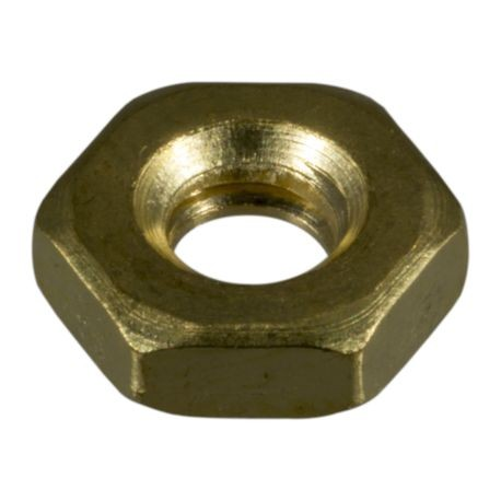 #10-24 Brass Coarse Thread Hex Machine Screw Nuts