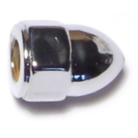 #10-24 Chrome Plated Acorn Cap Nuts