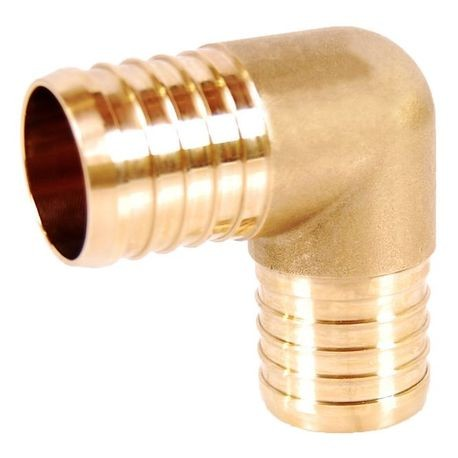 3/4 IN LF BRASS PEX ELBOW