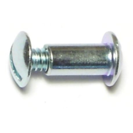 "#10-24 x 1/2"" Zinc Plated Steel Screw Posts"