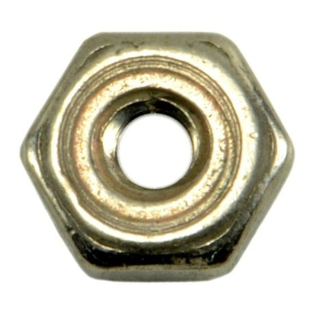 #0-80 18-8 Stainless Steel Fine Thread Hex Nuts