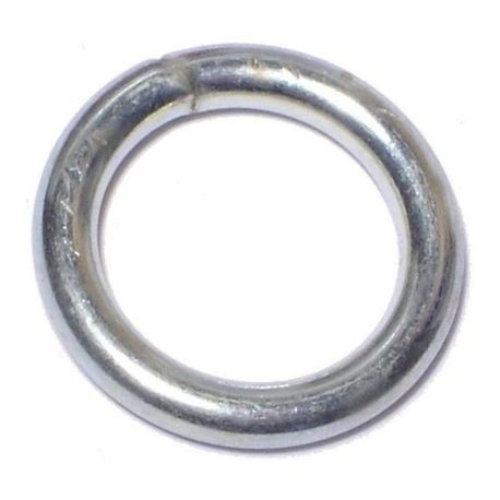 "#10 x 5/8"" Zinc Plated Steel Welded Rings"