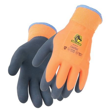Double Latex Terry-Lined Winter Glove L