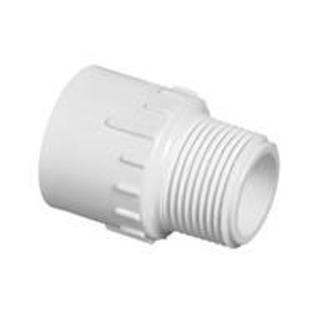 1-1/4 SCH 40 PVC MALE ADAPTER