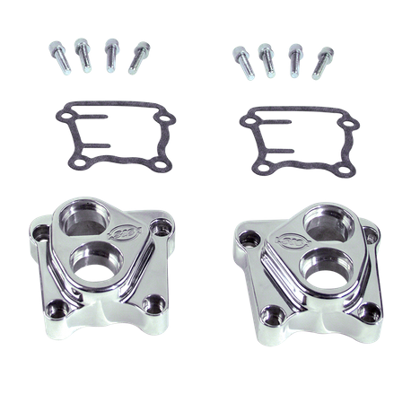 Billet Tappet Guides for Special Application Crankcases for 1999-'06 Big Twins