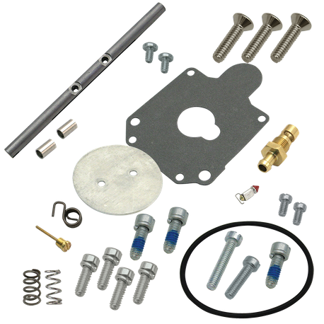Super D Carburetor Master Rebuild Kit for 1985-'16 Wire Type