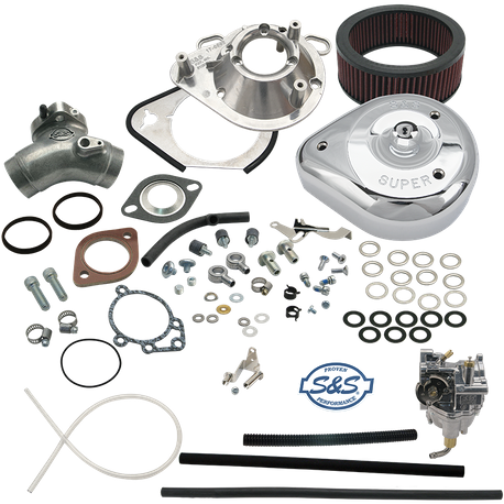 TÜV Approved Super E Carburetor Kit for 1999–'06 carbureted HD<sup>®</sup> Twin Cam 88<sup>®</sup> Models (except 2006 HD<sup>®</sup> Dyna<sup>®</sup>)