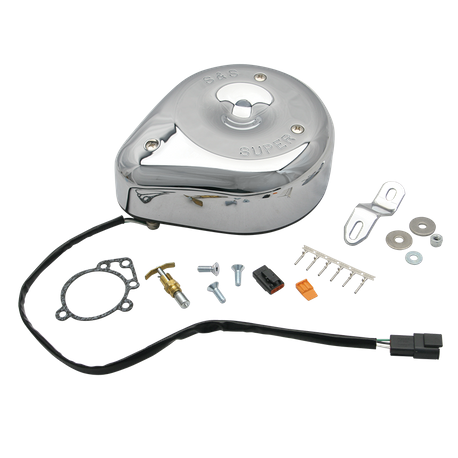 Replacement Sealed Air Cleaner Kit For S&S<sup>®</sup> 50-State Emissions Compliant V111, V117, and V124 Engines