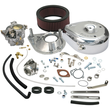 Super E Carburetor Kit for 1979-84 Big Twin Models, Standard Tanks