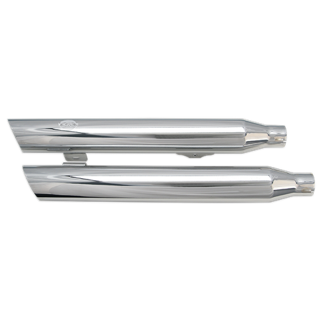 Slash-Cut Muffler Kit for 2008-'16 HD<sup>®</sup> Fat Bob<sup>®</sup> Models, 2010-'16 HD<sup>®</sup> Dyna<sup>®</sup> Wide Glide<sup>®</sup> Models