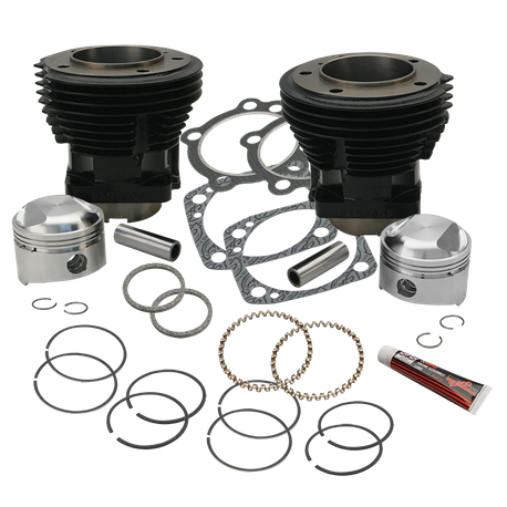 "80"" 3-1/2"" Bore Cylinder and Standard Compression Piston Kit for 1979-'84 80"" HD<sup>®</sup> Big Twins - Gloss Black Finish"
