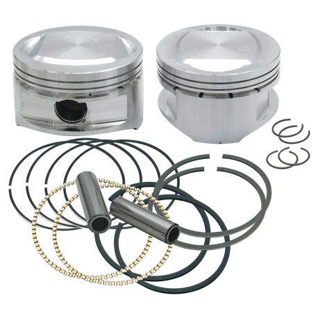 "95"" Conversion Pistons for 1999-'06 HD<sup>®</sup> Big Twins - +.005"""