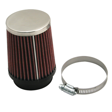 S&S<sup>®</sup> Tapered Air Filter For S&S<sup>®</sup> Tuned Induction System - Red (Each)