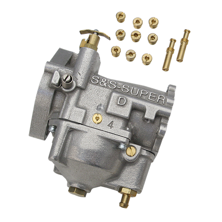 "Super D Gas Carburetor Only, 1.937"" Venturi"