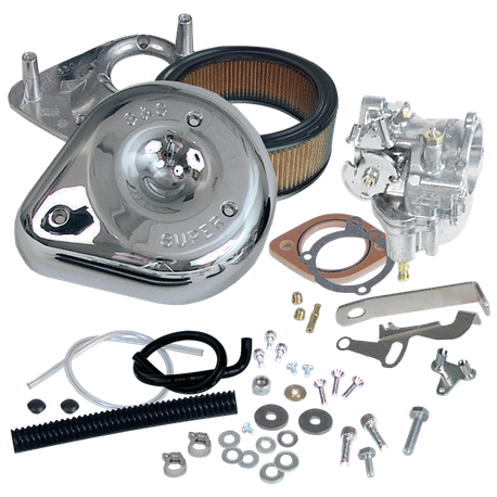 Super G Carburetor Kit for 1966-'78 Big Twin Models, Standard Tanks
