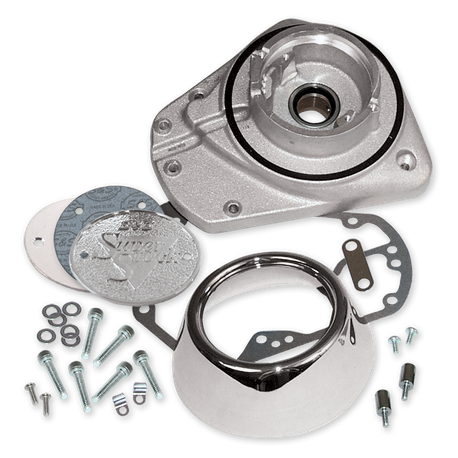 Natural Cast Alternator Gearcover Kit For 1973-'92 HD<sup>®</sup> Big Twins