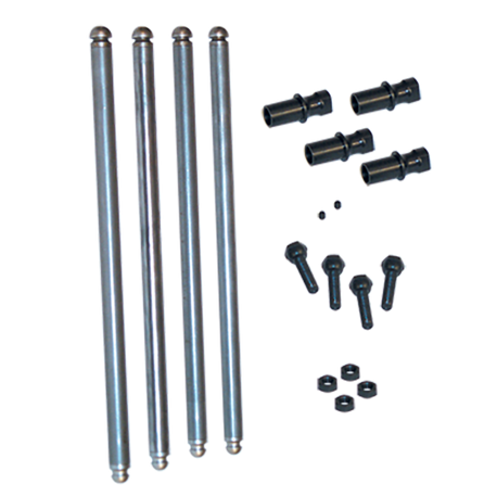 "Solid Lifter Conversion Pushrod Kit for 1948-'65 Big Twins, Stock 61"" Engine with 5.205"" Cylinder Length"
