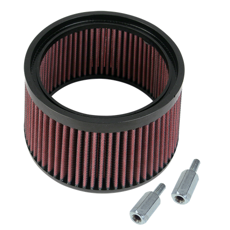 "High Flow Air Filter Kit for S&S<sup>®</sup> Stealth Air Cleaners - 1"" Taller"