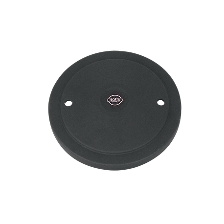 Muscle Cover Only for S&S<sup>®</sup> Stealth Air Cleaners - Black Wrinkle Powder Coat With Engraved S&S<sup>®</sup> Logo