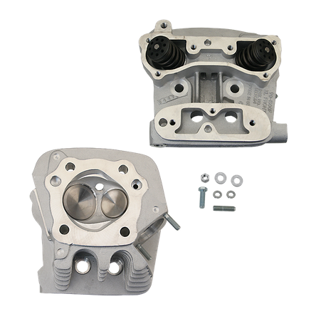 "S&S<sup>®</sup> Super Stock<sup>®</sup> Cylinder Head Kit For 3-1/2"" and  Bore 3-5/8"" 1986-'90 HD<sup>®</sup> Sportster<sup>®</sup> Models - Natural Aluminum Finish"