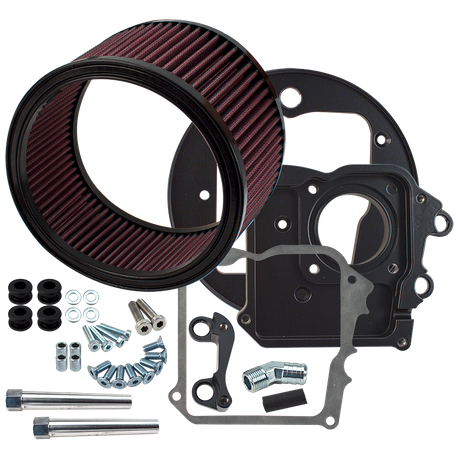S&S<sup>®</sup> Air Cleaner Kit without cover for 2014-'17  Indian<sup>®</sup> Touring Models With Thunderstroke 111 engines