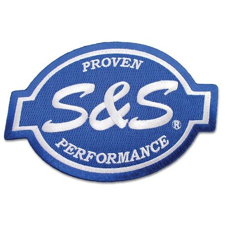 "S&S<sup>®</sup> Cycle Logo 3"" Patch"