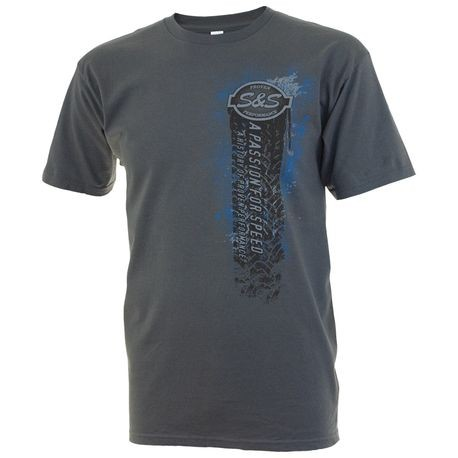 S&S<sup>®</sup> Passion for Speed T-Shirt - XXXL, Gray