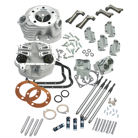Stock Bore Retro Cylinder Head and Valve Train Upgrade Kit for 1966-'84 big twins