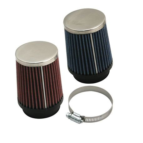 S&S<sup>®</sup> Tapered Air Filter For S&S<sup>®</sup> Tuned Induction System (Each) - Blue or Red
