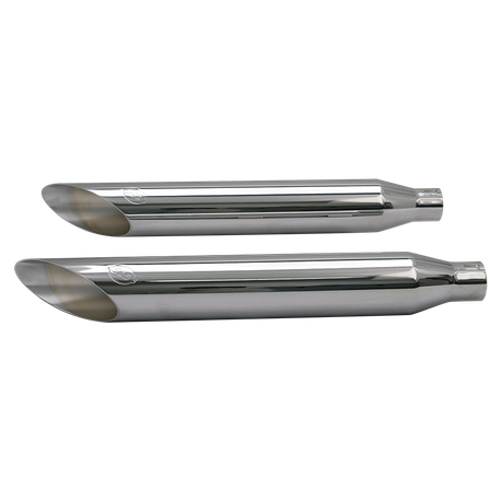 Slash-Cut Shorty Slip-On Performance Muffler for 2007-'16 HD<sup>®</sup> Softail<sup>®</sup> Standard, Heritage<sup>®</sup> and Rocker<sup>®</sup> Models - Chrome